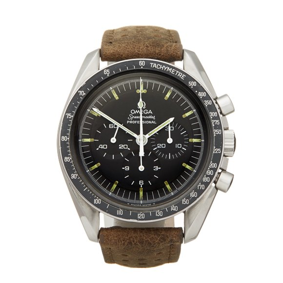 Omega Speedmaster Straight Writing Chronograph Stainless Steel - 145.022-69 ST