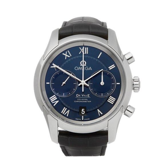 Omega De Ville Chronograph Stainless Steel - 431.13.42.51.03.001