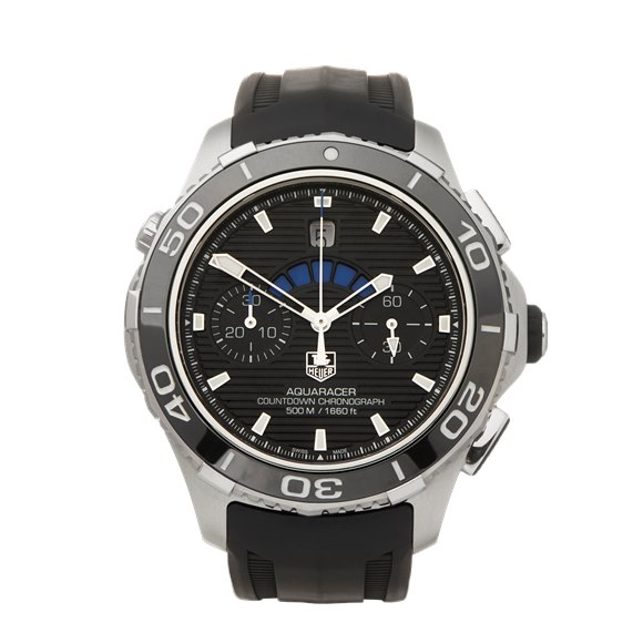 Tag Heuer Aquaracer Countdown Chronograph Stainless Steel - CAK211A.FT8019