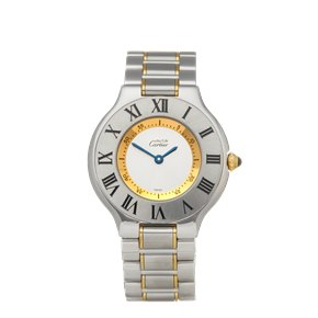 Cartier Must de 21 18k Stainless Steel & Yellow Gold - 1330