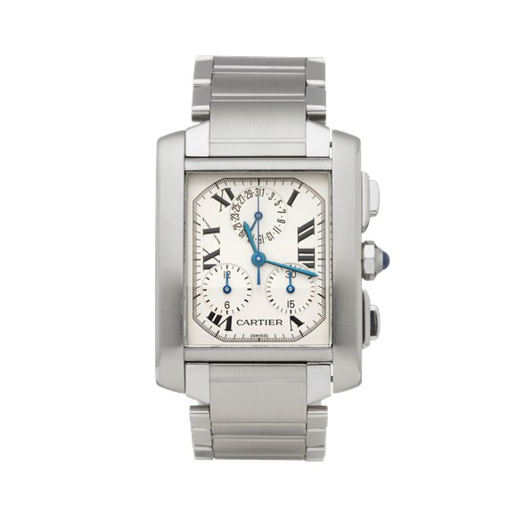 Cartier Tank Francaise Chronoreflex Stainless Steel - W51001Q3 or 2303