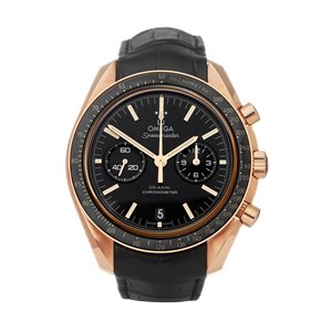 Omega Speedmaster Moon Watch Chronograph 18k Rose Gold - 311.63.44.51.01.001