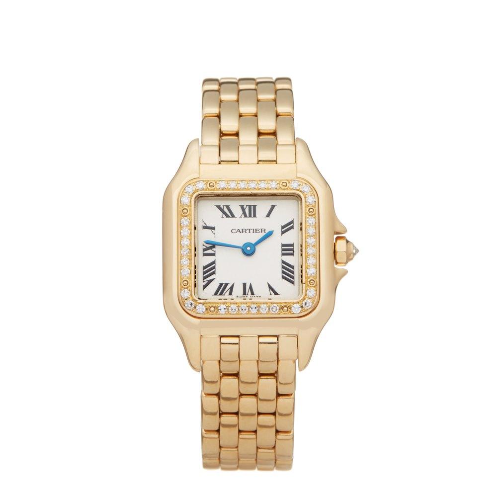 Cartier Panthère Diamond 18k Yellow Gold 1280