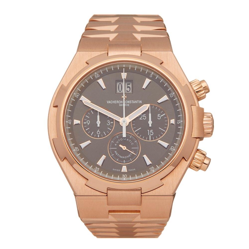 Vacheron Constantin Overseas Big Date Chronograph 18k Rose Gold 49150/B01R-9338