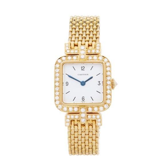 Cartier Sonate Paris Diamond 18k Yellow Gold - 8914000 or 8035