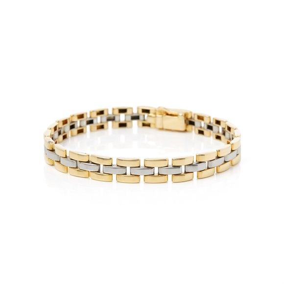 Cartier 18k Yellow & White Gold Maillon Panthère Bracelet