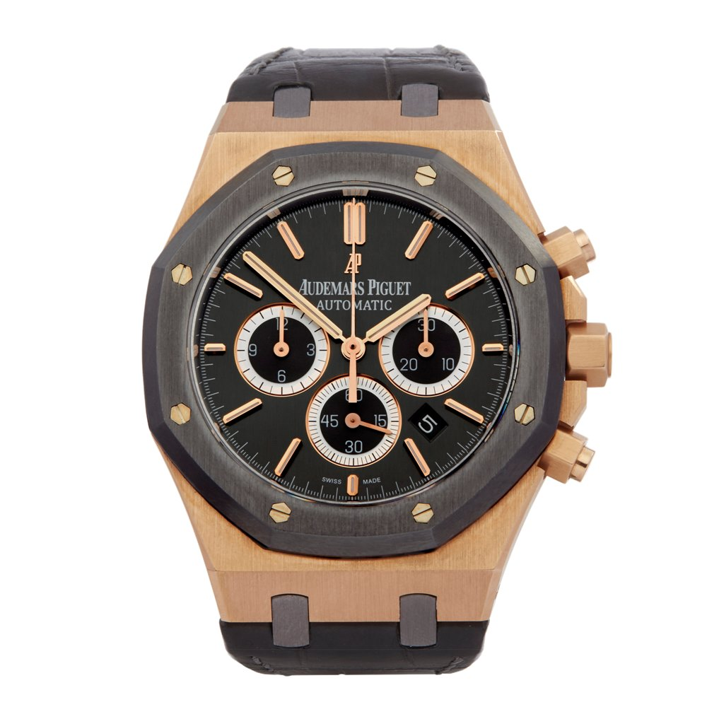 Audemars Piguet Royal Oak Leo Messi Chronograph Rose Gold & Titanium 26325OL.OO.D005CR.01