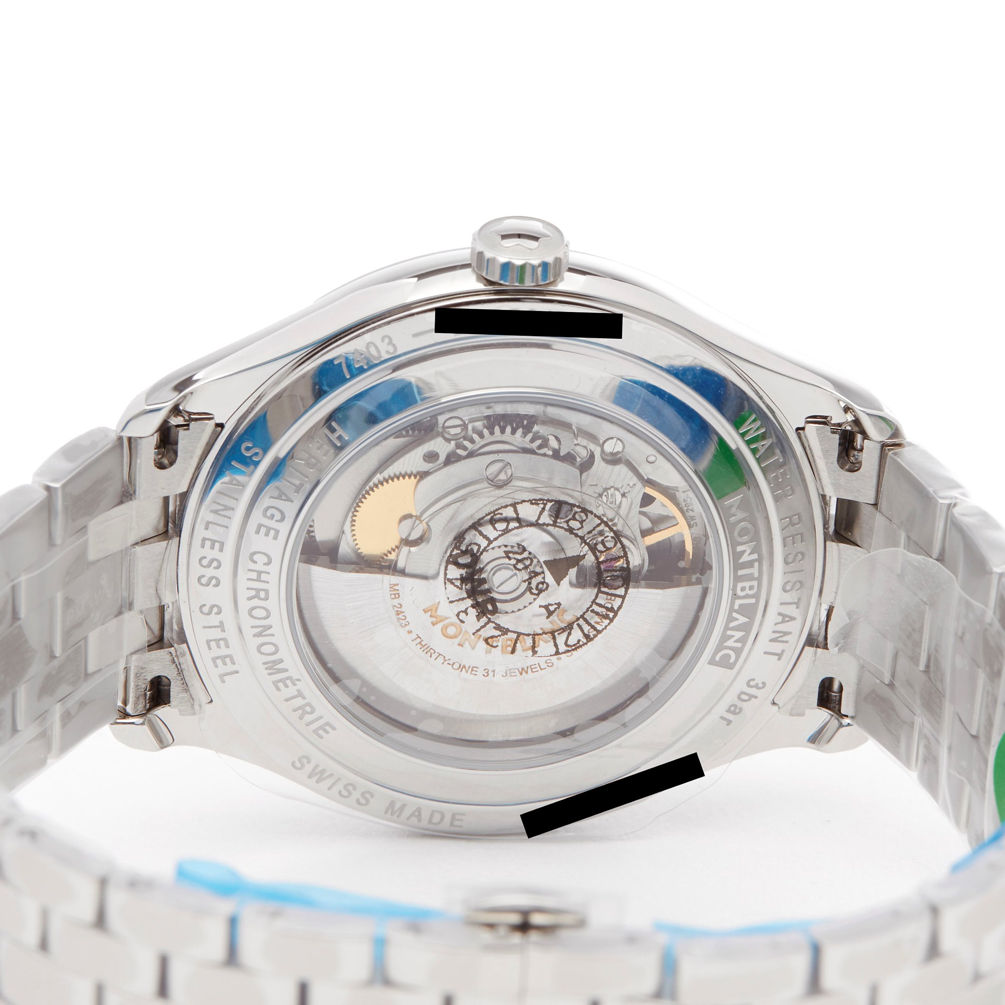 Montblanc Heritage Heritage Twincounter Date Stainless Steel 114873