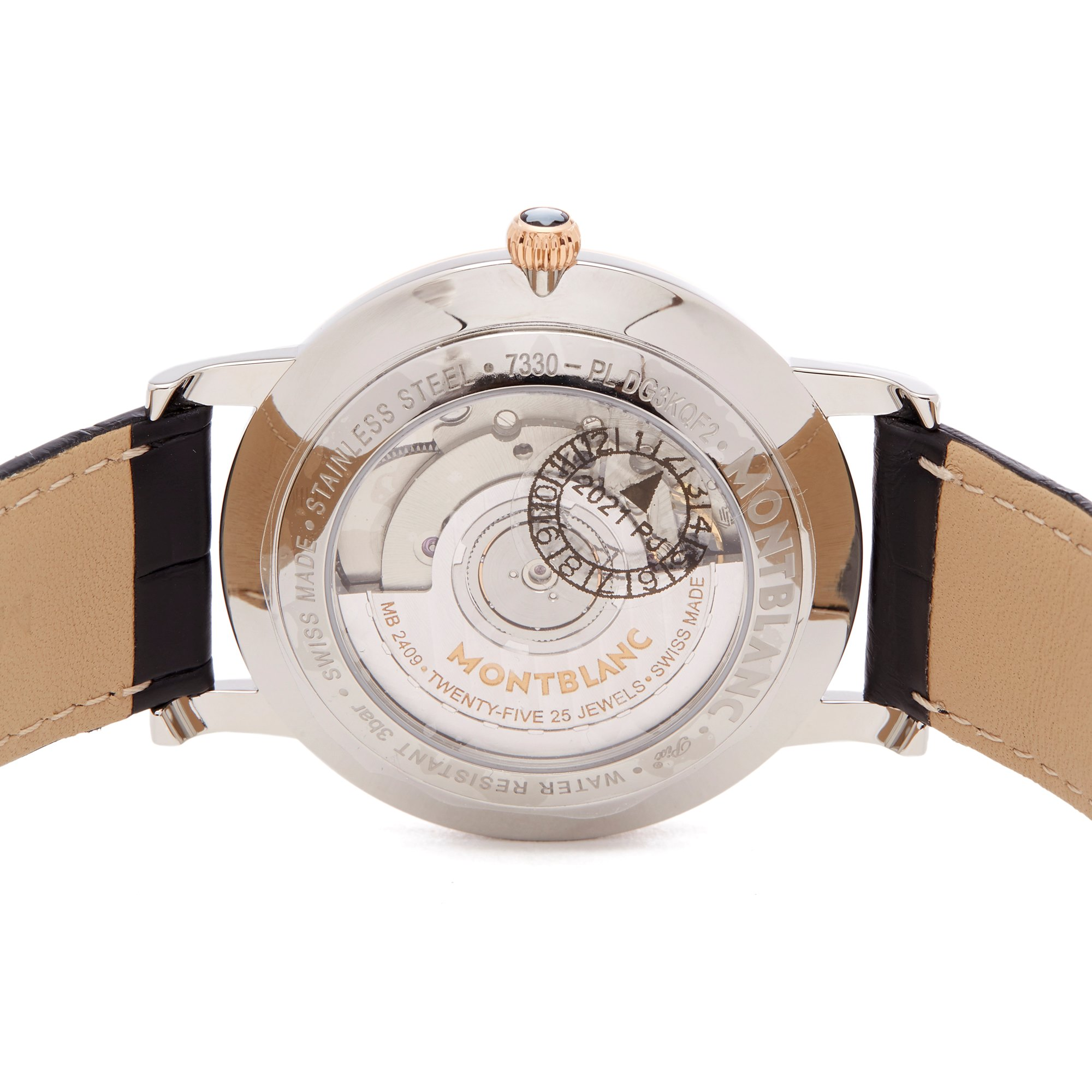 Montblanc Star Classique Stainless Steel & Rose Gold 112145