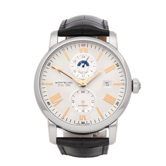 Montblanc Star Dual Time Stainless Steel - 114857