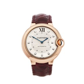 Cartier Ballon Bleu Diamond 18k Rose Gold - WJBB0010 or 3003