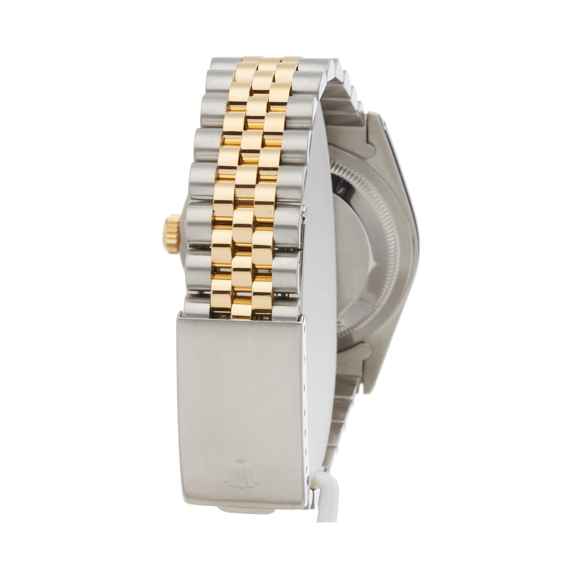 Rolex DateJust 36 Diamond Stainless Steel & Yellow Gold 16233