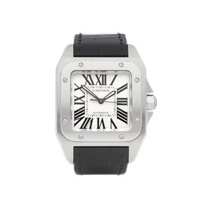 Cartier Santos 100 Stainless Steel - W20107X7 or 2878