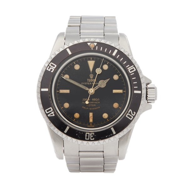 Tudor Submariner Pcg Stainless Steel - 7928