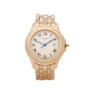 Cartier Cougar 18k Yellow Gold - W35019L3 or 1165