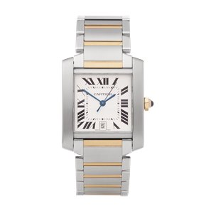 Cartier Tank Francaise Stainless Steel & Yellow Gold - 2302