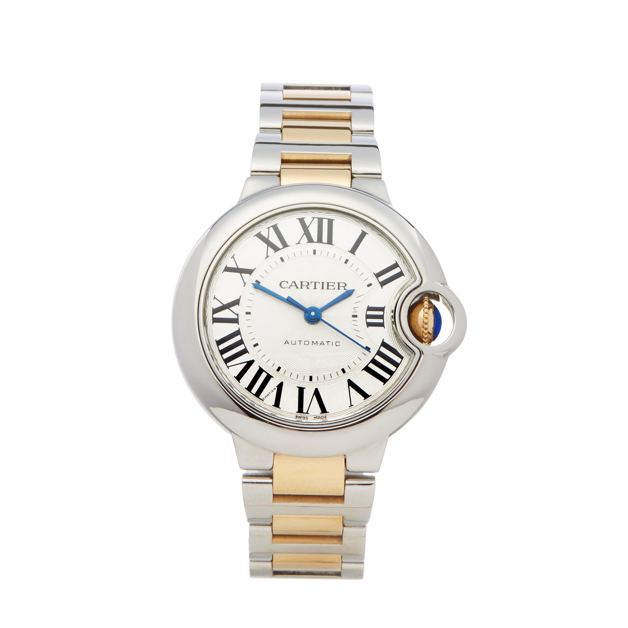 Cartier Ballon Bleu Stainless Steel & Yellow Gold W2BB0002 or 3489