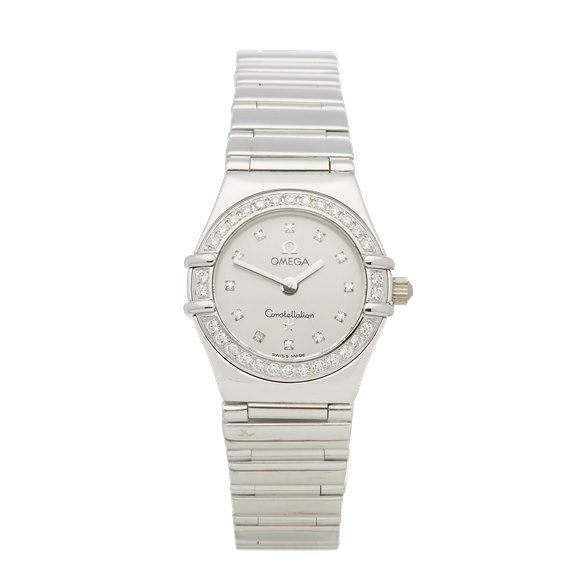 Omega Constellation Diamond 18k White Gold - 1165.36