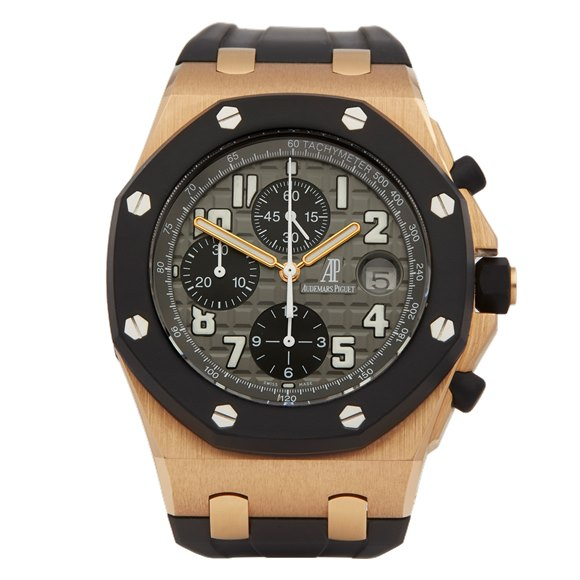 Audemars Piguet Royal Oak Offshore Rubber Clad 18K Rose Gold & Rubber Clad - 25940OK/O/002CA/01