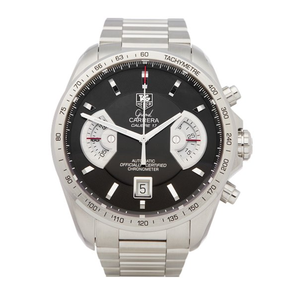 Tag Heuer Carrera Chronograph Stainless Steel - CAV511A