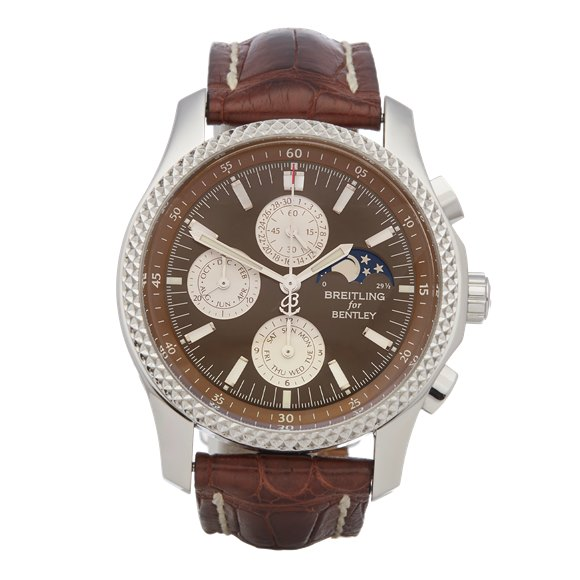 Breitling Bentley Chronograph Stainless Steel - P19362