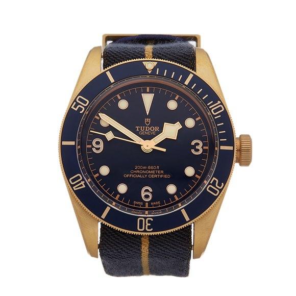 Tudor Black Bay Heritage Bucherer Blue Bronze - 79250BB