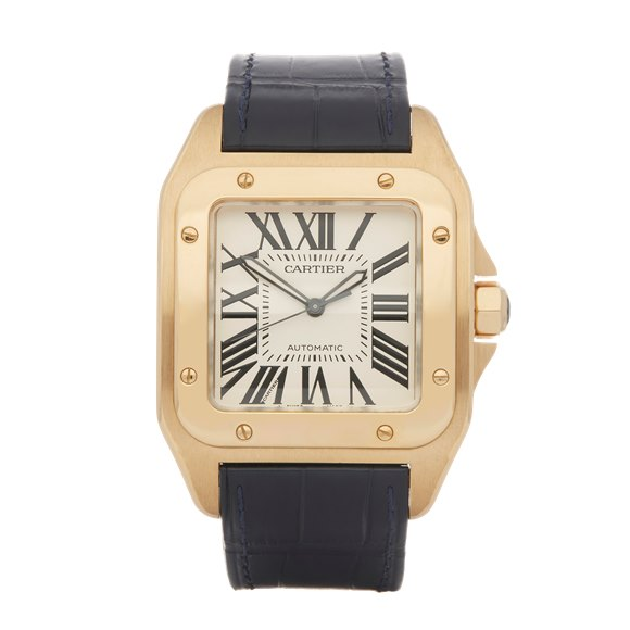 Cartier Santos 100 W2007171 18K Yellow Gold - 2657