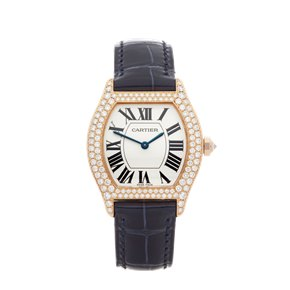 Cartier Tortue Diamond 18K 18K Rose Gold - WA505031