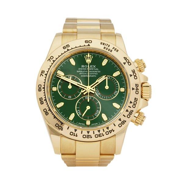 Rolex Daytona Chronograph 18K Yellow Gold - 116508