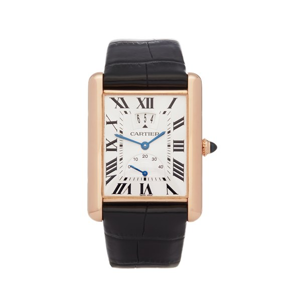 Cartier Tank Louis LC Big Date 18K Rose Gold - W1560003 or 3185
