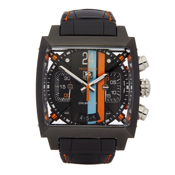 Tag Heuer Monaco Chronograph Stainless Steel - CAL5110.FC6265