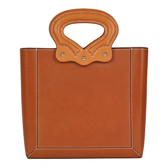 Cut Out Handle Tote