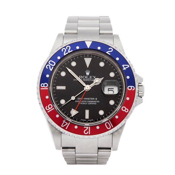 Rolex GMT-Master II Pepsi Stainless Steel - 16710