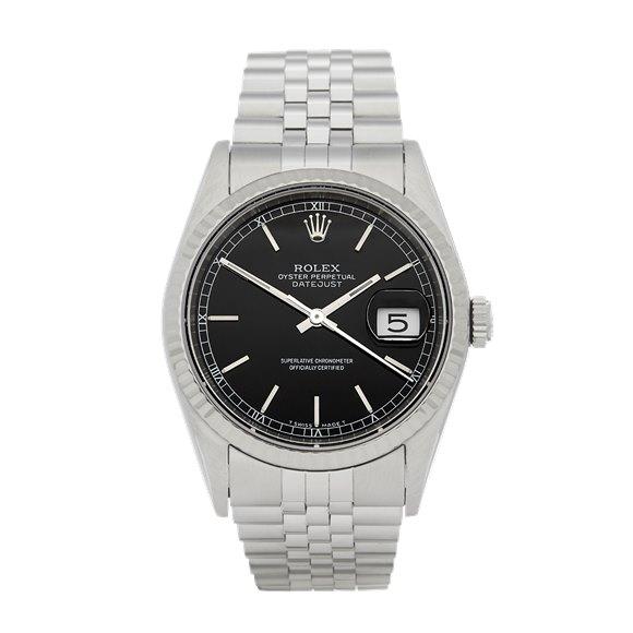 Rolex Datejust 36 Stainless Steel - 16234