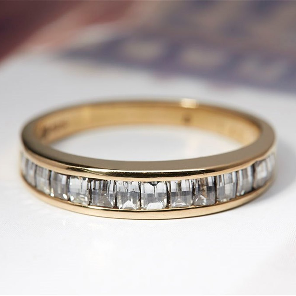 Goldsmiths 18ct Yellow Gold & Diamond Ring